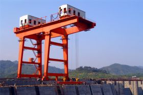 Dam Top Gantry Crane