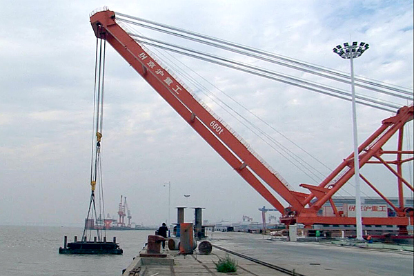 600t-fixed-dock-crane