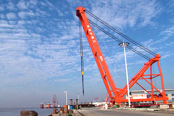 Fixed-Dock-Crane