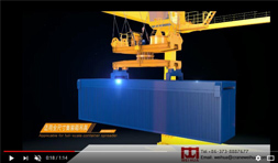Container Gantry Crane 3D