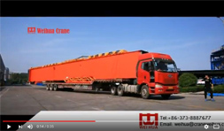 Gantry Crane Send to Egypt
