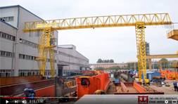 Single Lattice Girder Gantry Crane
