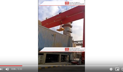 Gantry Crane Commissioning in Egypt