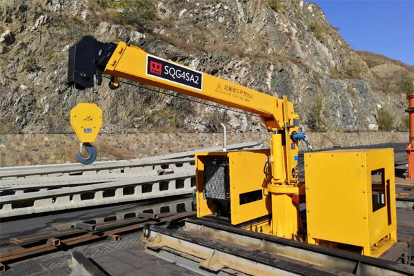 Track Collection Crane