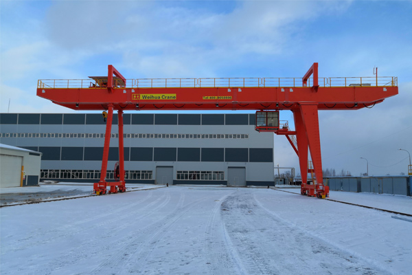 Gantry Crane Capacity 32 Ton for Russia Project