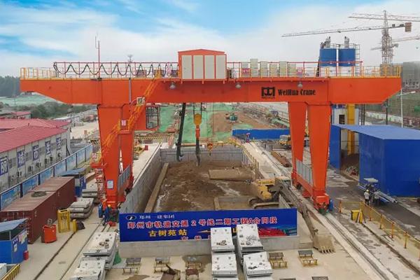 50t-slag-crane-subway-construction