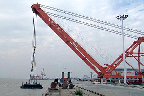 600t-fixed-dock-crane