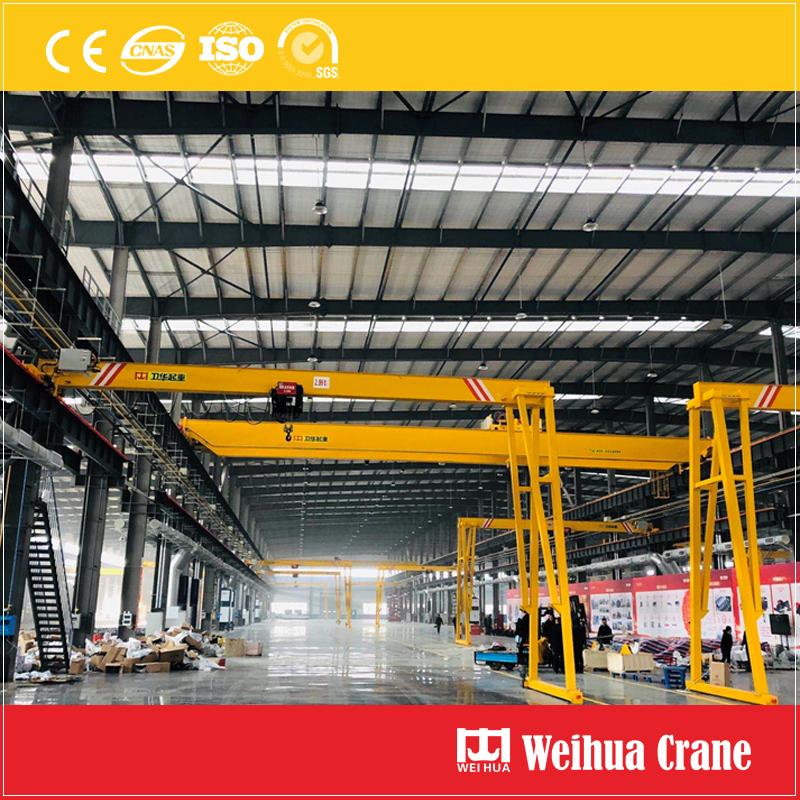 Europe-standard-semi-gantry-crane
