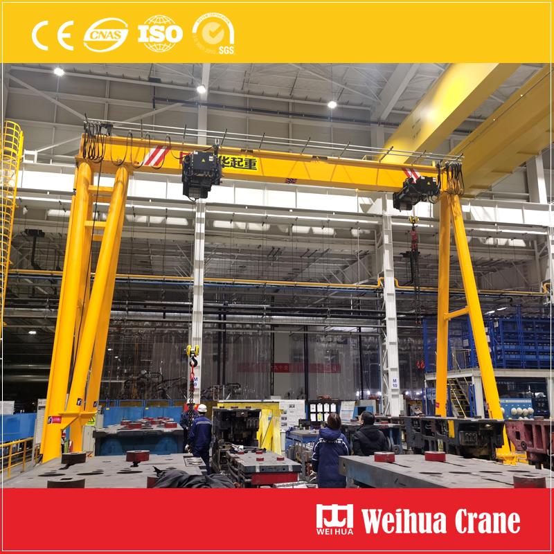 Germany-standard-single-girder-gantry-crane