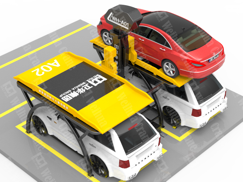 No-avoidance-car-Parking-System
