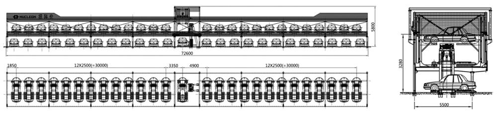 auto-parking-garage-sketch