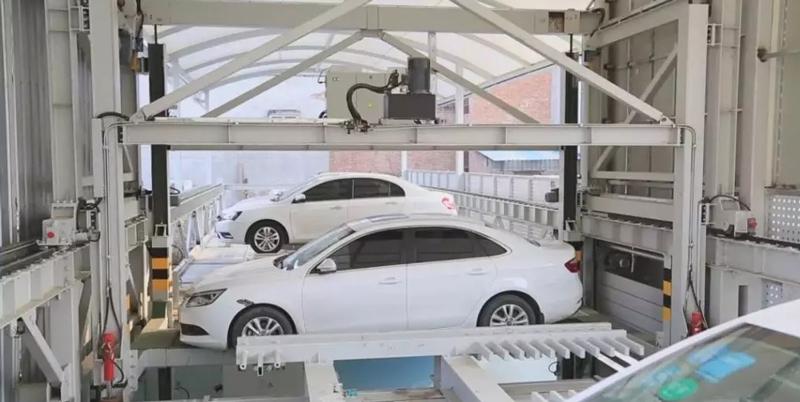 double-layer-parking-garage