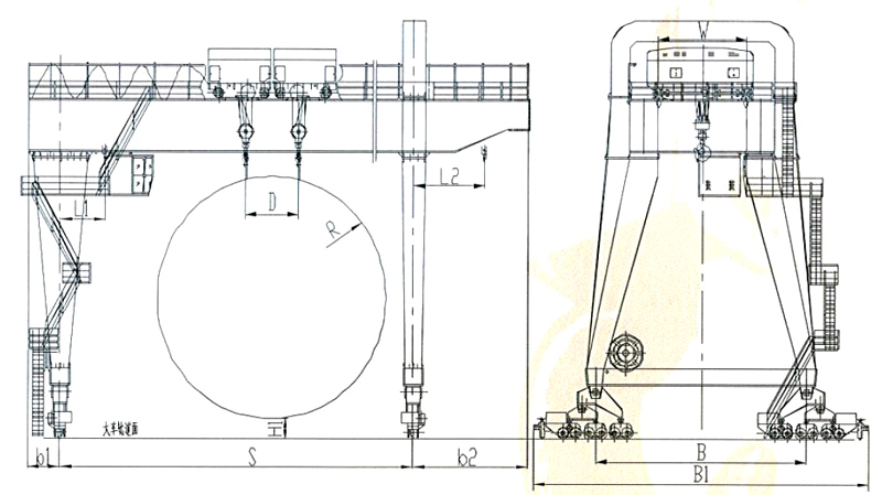 gantry-crane-drawing