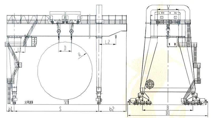 gantry-crane-drawing