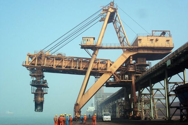 mobile-ship-loading-machine