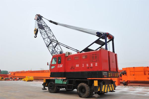 port-tire-mobile-crane