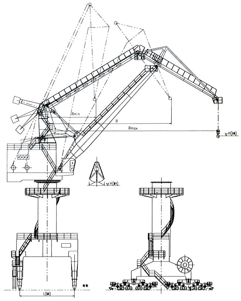 portal-crane-drawing