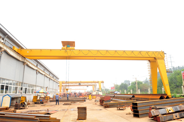 semi-gantry-crane
