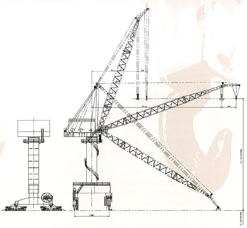 shipyard-portal-crane-drawing