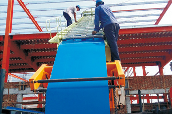 steel-sheet-making-crane