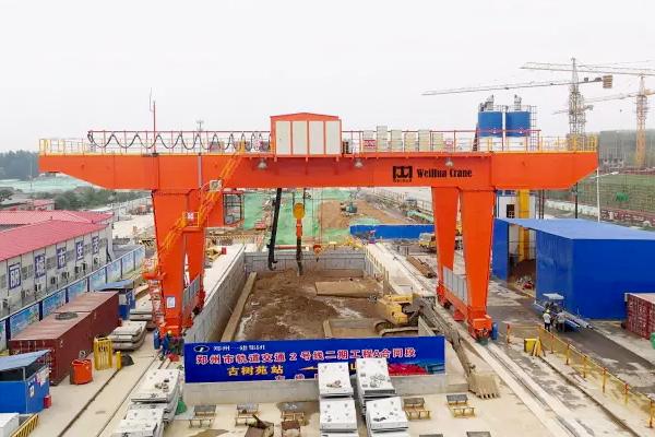 subway-construction-gantry-crane